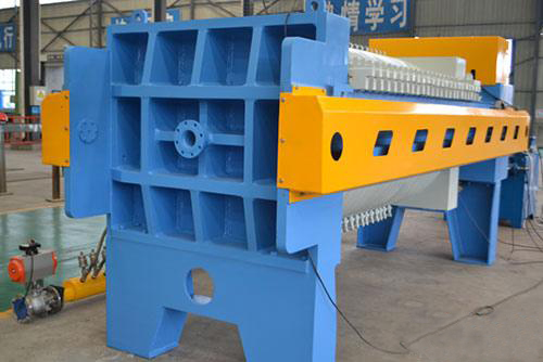 Ultra high pressure sludge press machine
